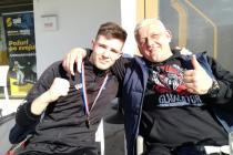 Primoštenac sa zagrebačkom adresom, Kristijan Duje Gaćina prvi na prvenstvu Hrvatske u boksu za mlađe seniore