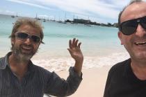 AVANTURA PREKO ATLANTIKA: Na povratku iz Brazila Dražen Grgić je slomljenim kormilom doplovio do Barbadosa gdje je upoznao našeg Primoštenca Nenu Skorića