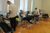 OBAVIJEST DARIVATELJIMA KRVI: Sljedeće darivanje krvi održat će se u Šibeniku 11. i 12.1.2021.