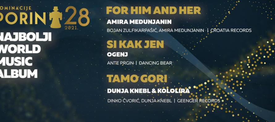 Surka nominiran za Porin u dvije kategorije