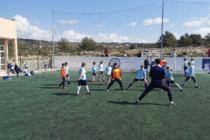 ŽELJNI SPORTA: Nakon dva mjeseca pauze, u veljači su se naši mali malonogometaši napokon vratili na sportske terene