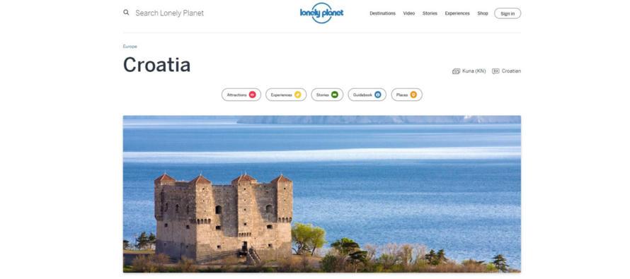 Suradnja HTZ sa svjetskim travel platformama Lonely Planet i Culture trip