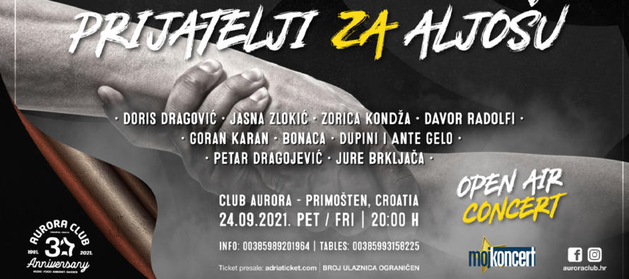 Humanitarni koncert u ime Aljoše Draganića Vrančića